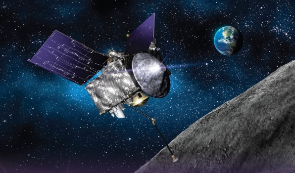 TAG, you're it; OSIRIS-REx collects sample at asteroid Bennu