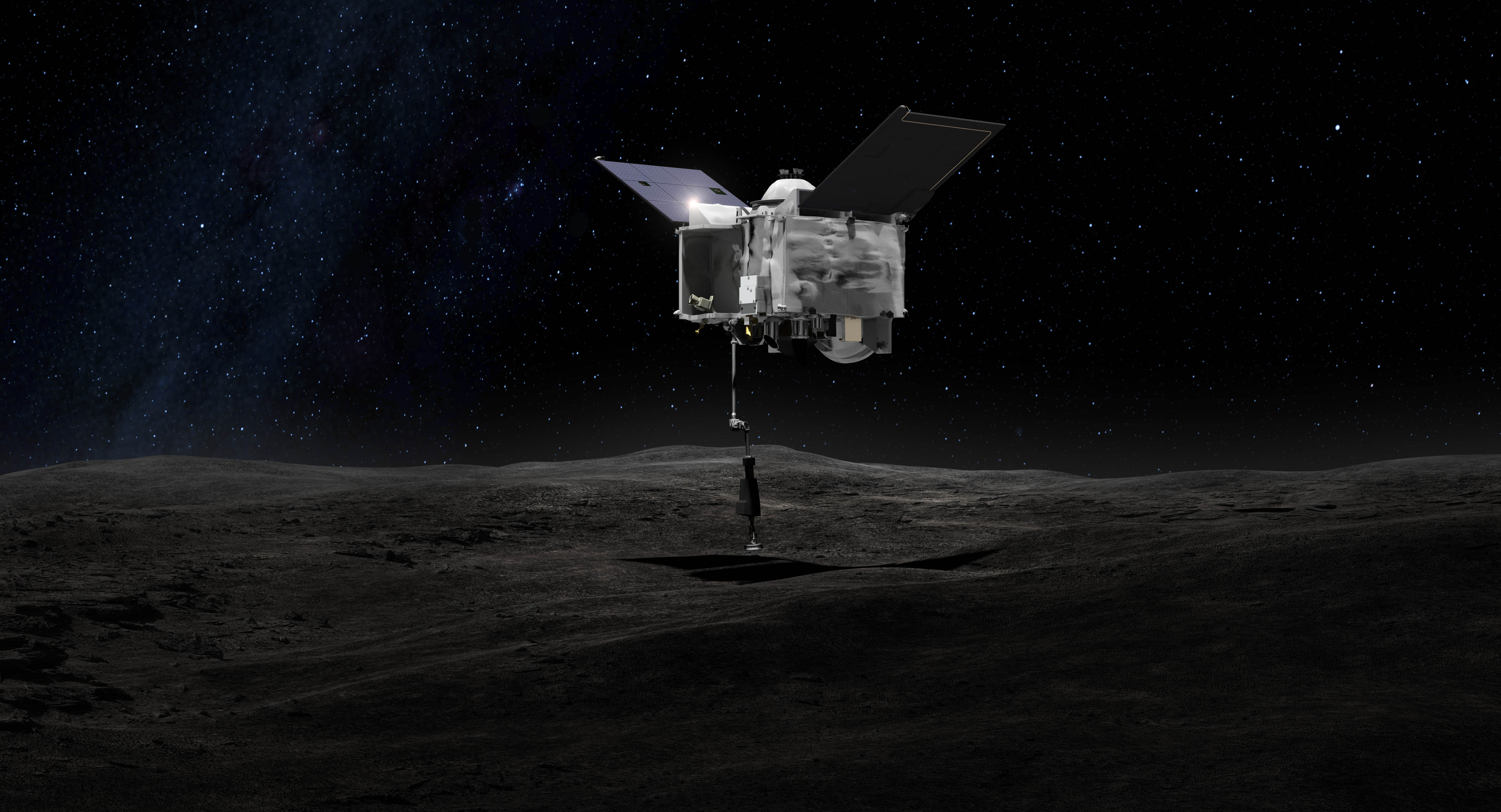 REx finds water on Bennu asteroid within days of arrival
