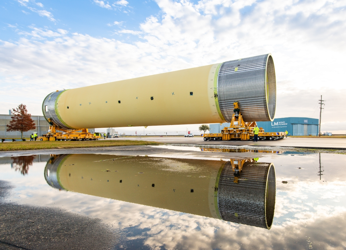Third SLS STA headed to Marshall as limited work continues during ...