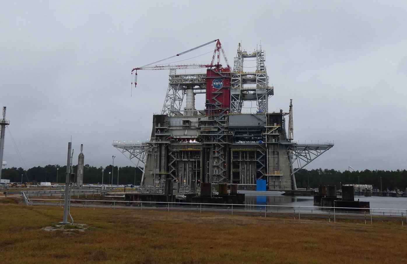 NASA Stennis wrapping up B-2 Stand activation for SLS Green