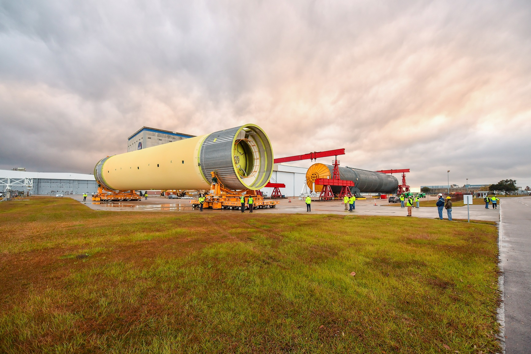 Third SLS STA headed to Marshall as limited work continues