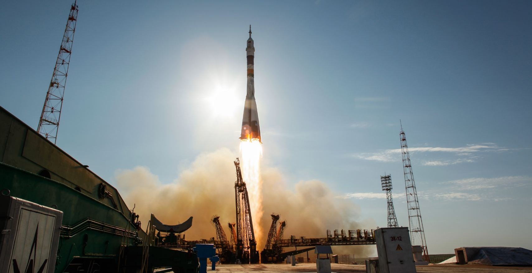 Soyuz-FG on penultimate flight delivers three new crewmembers for