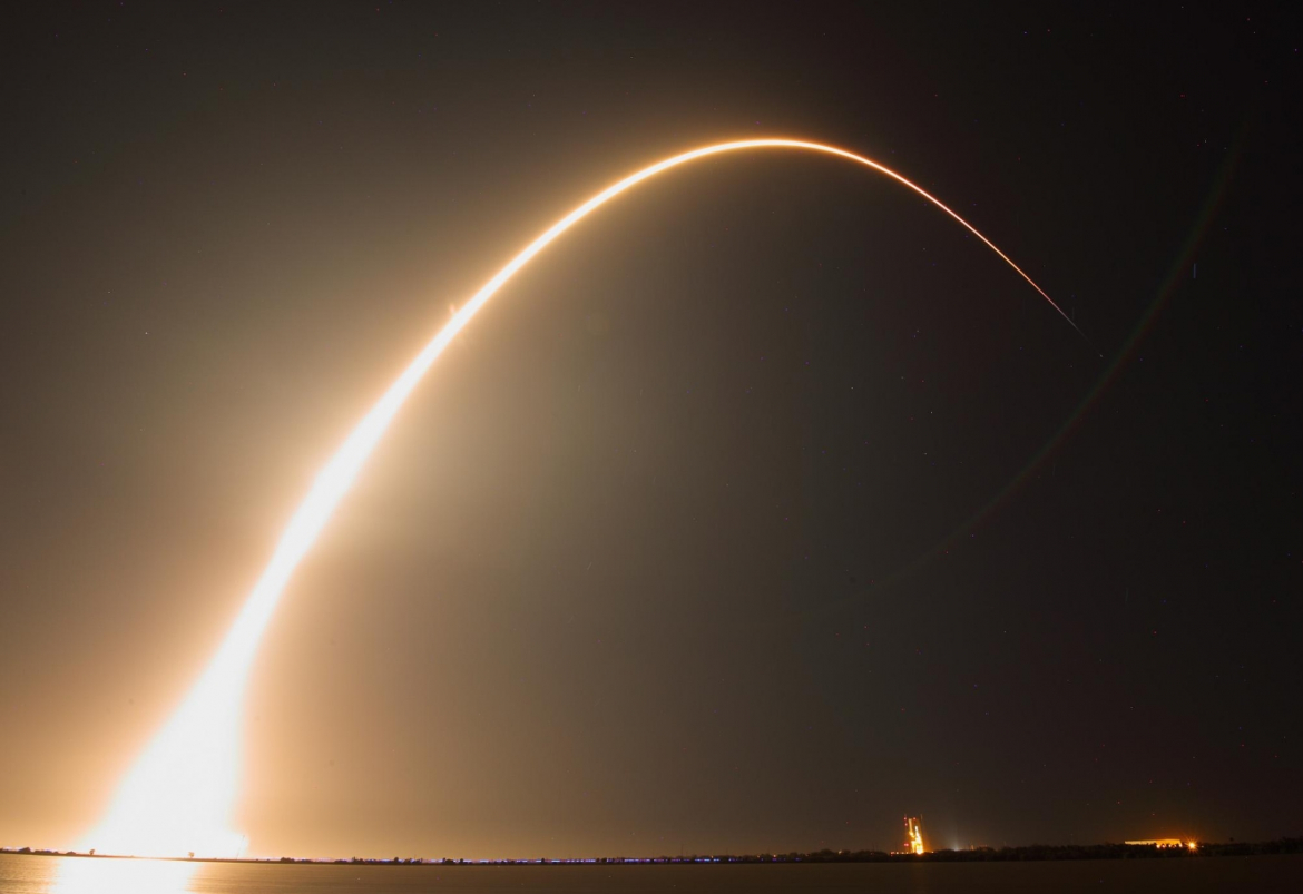 Spacex Launches Indonesian Satellite Launch And Israeli Moon Mission