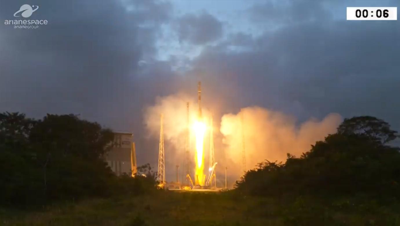 Oneweb Kick Starts Massive Constellation With Soyuz St B Launch