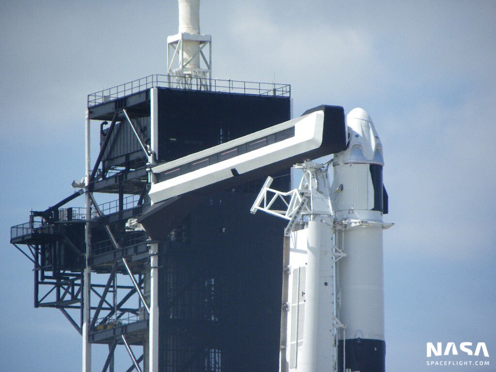 SpaceX launches historic DM-1 mission, Dragon 2 on maiden flight to