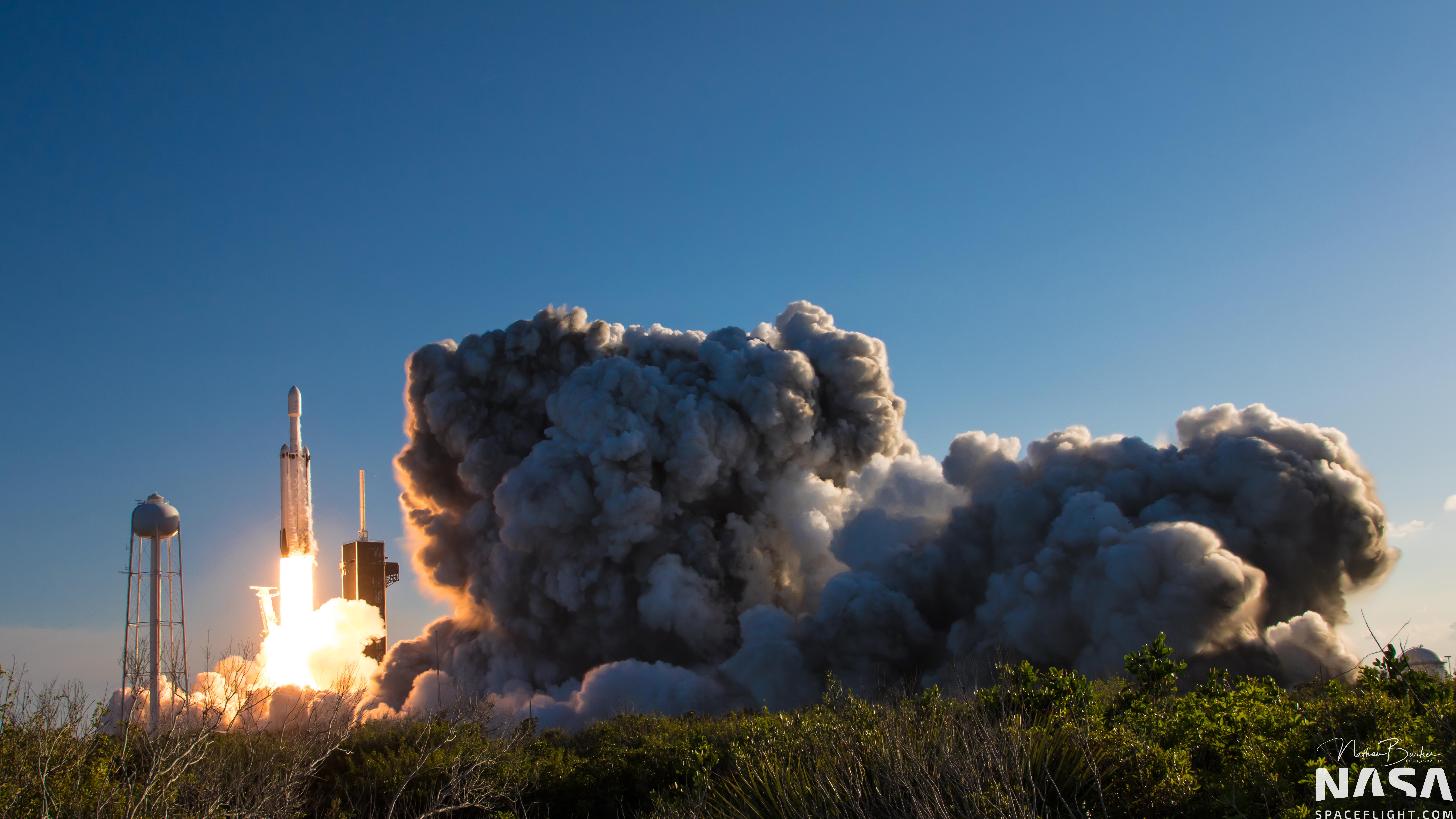 NASA highlights payloads on next Falcon Heavy
