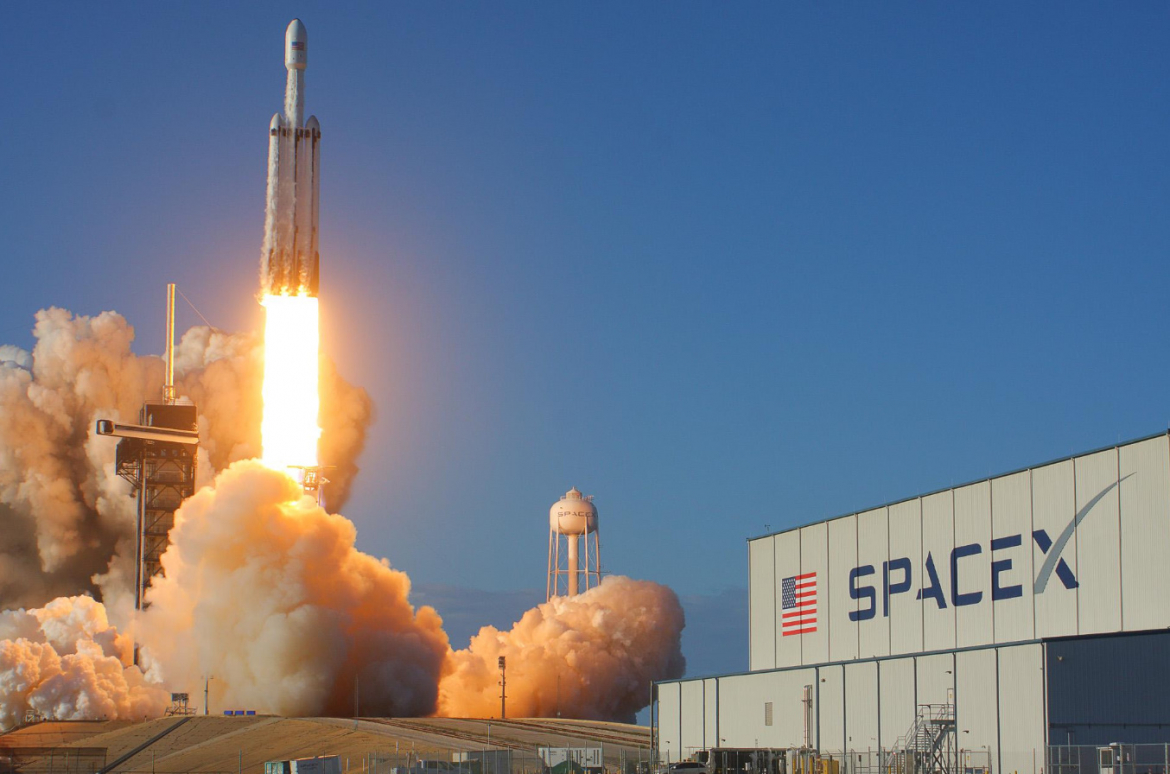 Image result for spacex falcon heavy