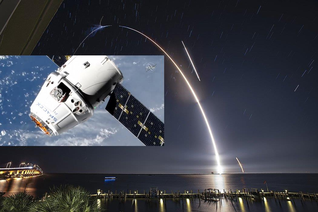 Following Falcon 9 Saturday launch, CRS-17 Dragon arrives at the ISS