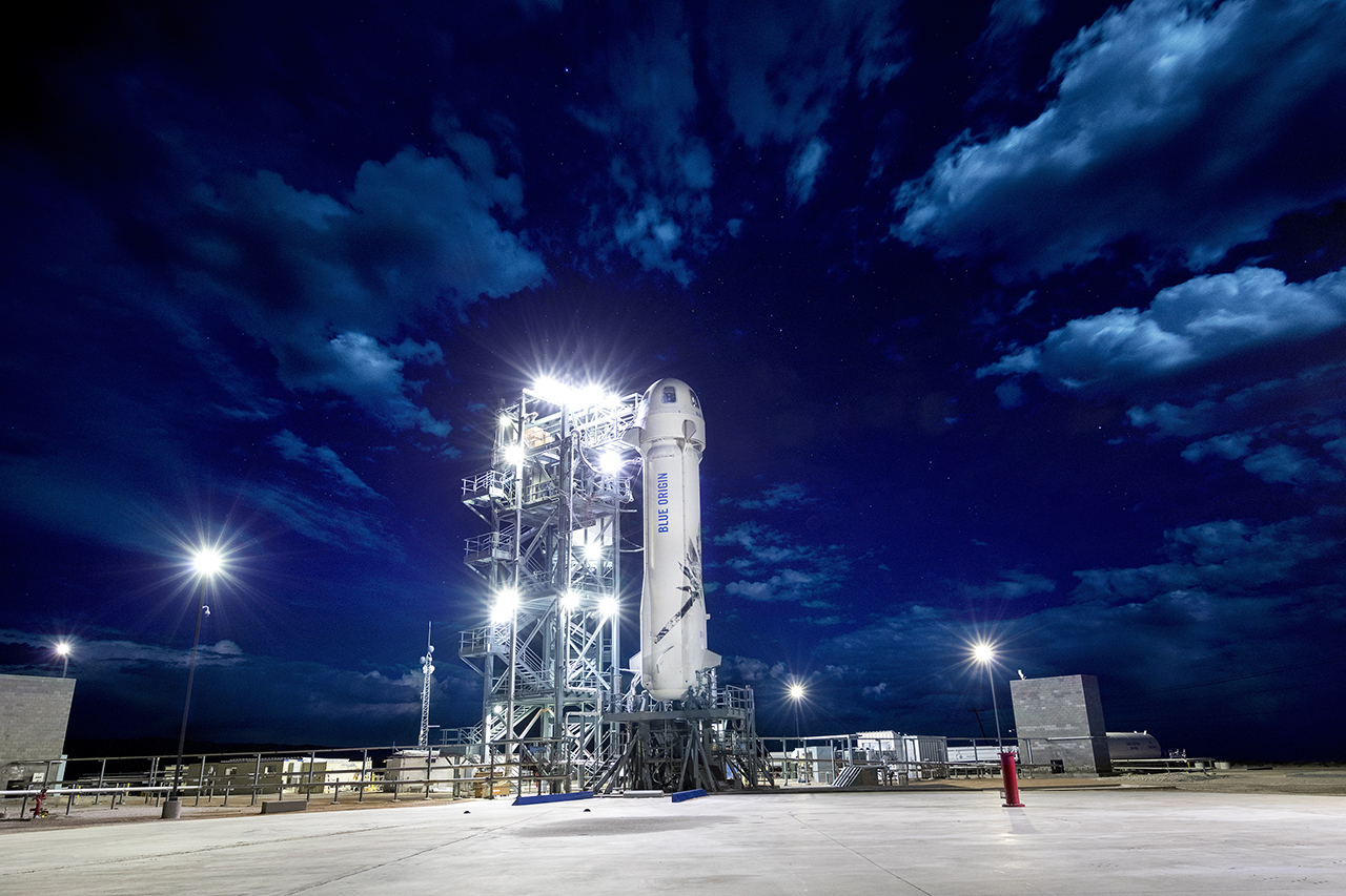 Blue Origin Launches Test Flight of Its New Shepard Rocket