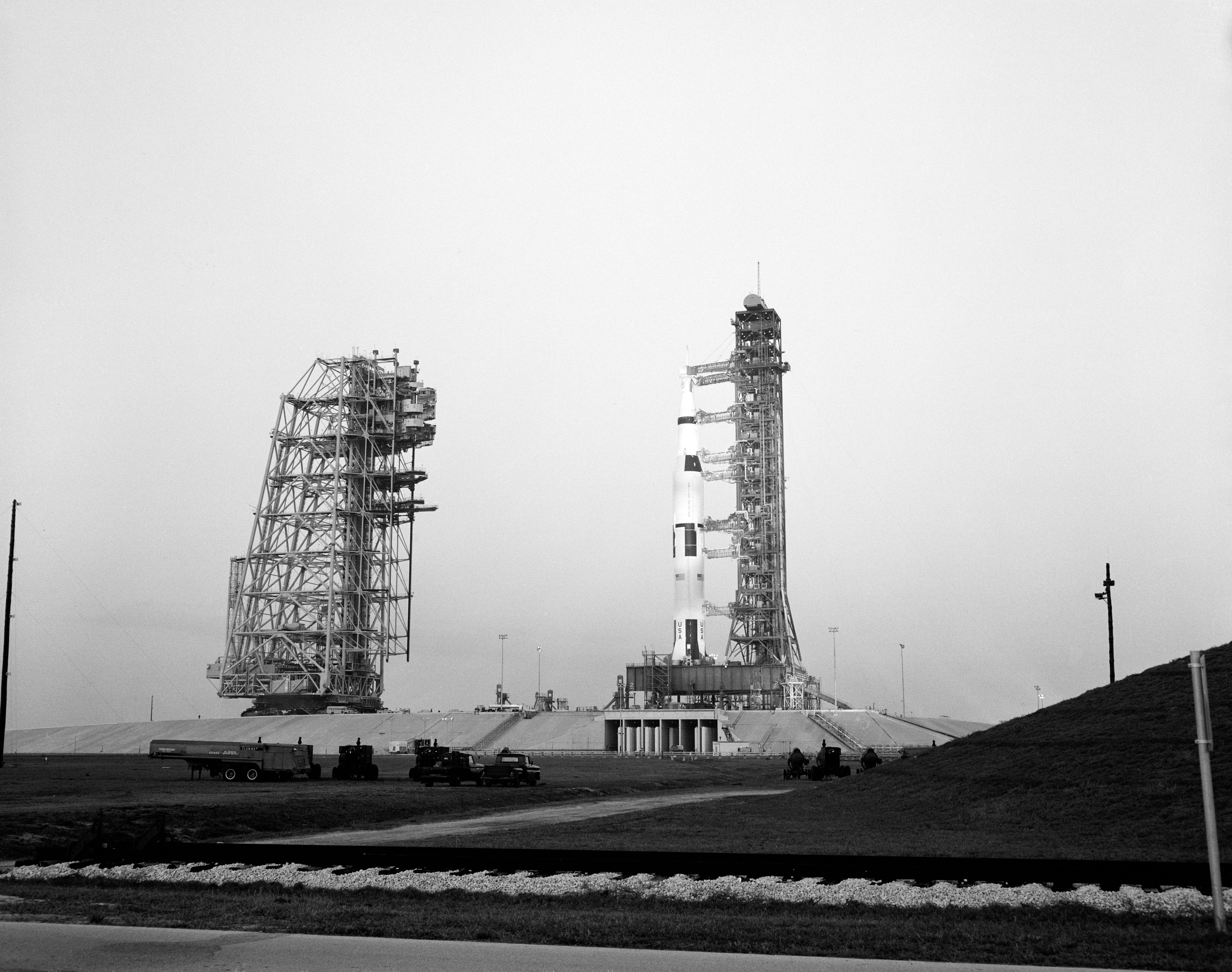50 Years Ago: Apollo 11 Rolls Out, NASA Sets Mid-July