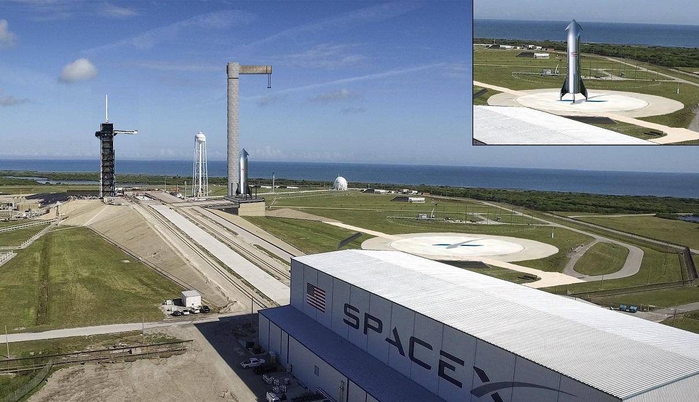 Starhopper - Suivi du développement - Page 34 Spacex_Pad_39A_Starship_A_50
