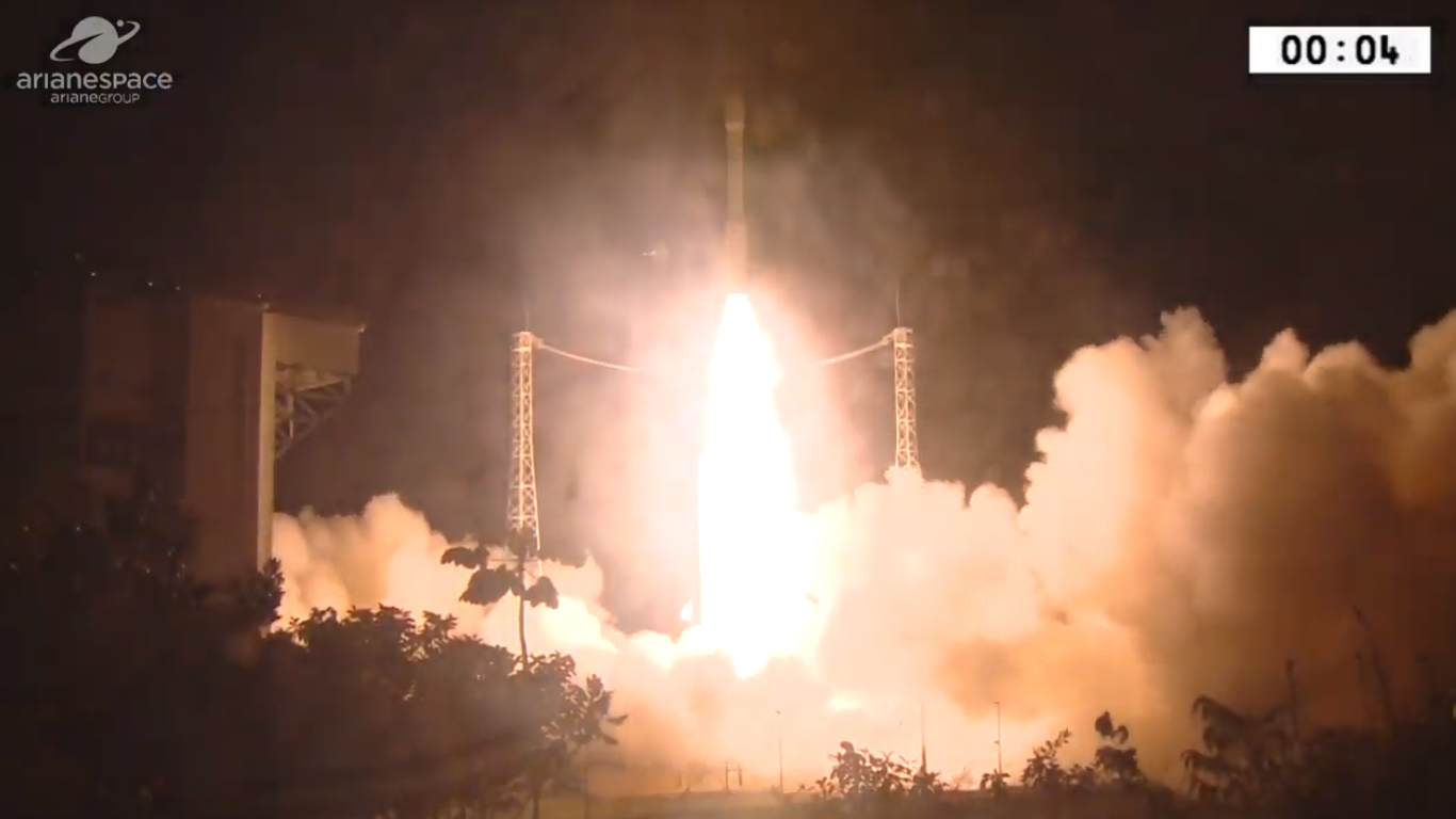 Ariane Rocket Failure! Vega Lost