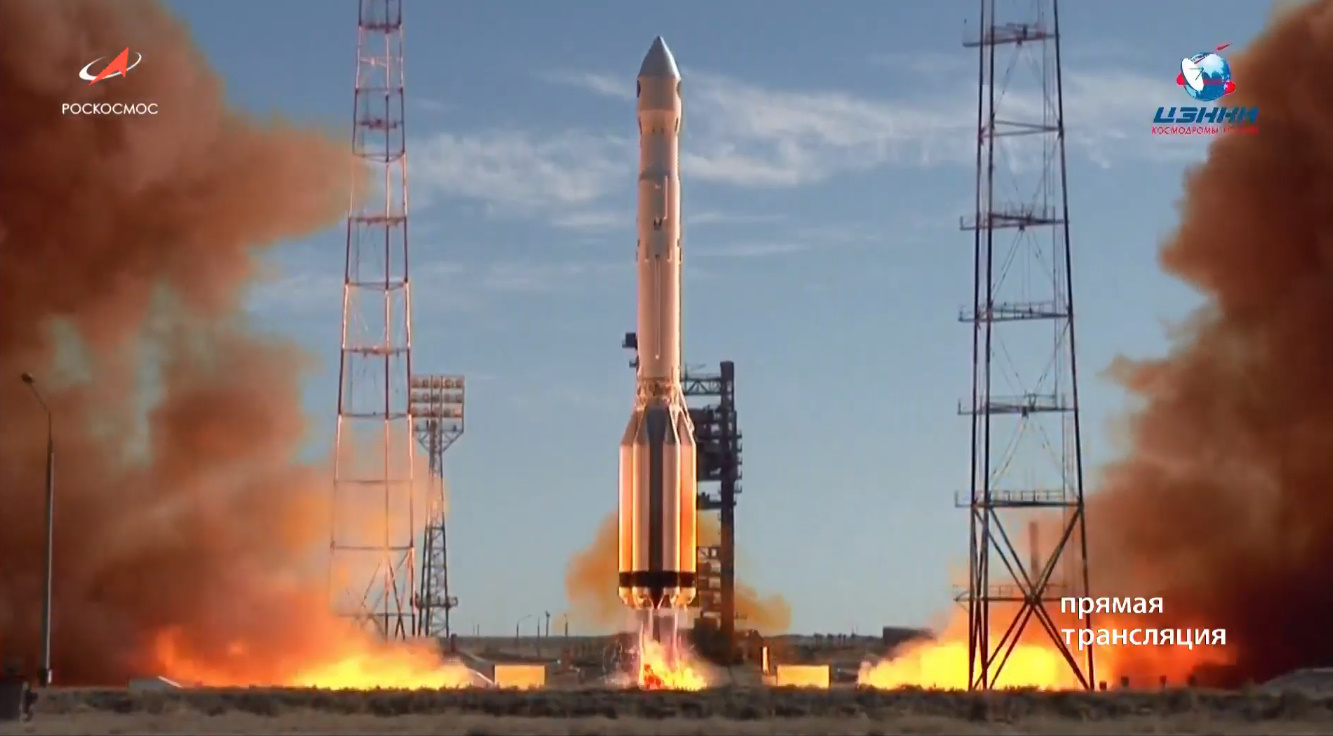 Russian Proton M Launches Spektr Rg Observatory