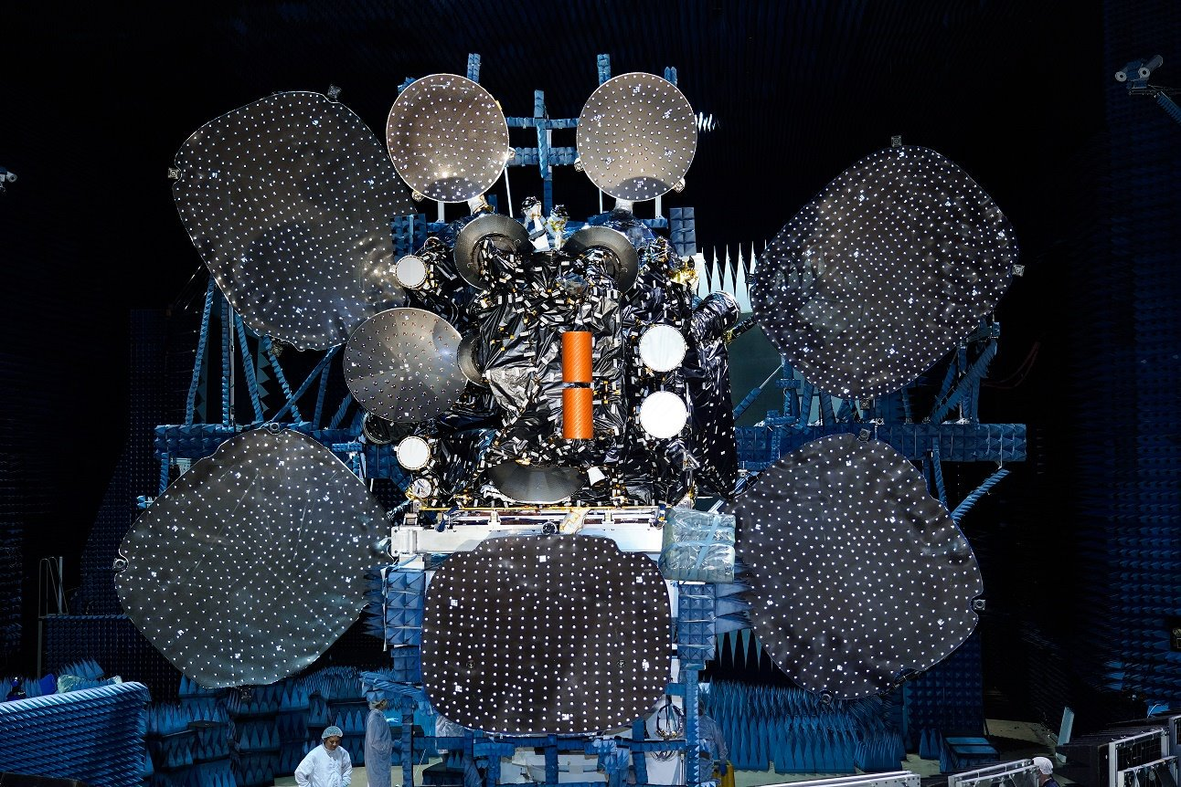 The Second EDRS Space Laser Satellite was Launched
