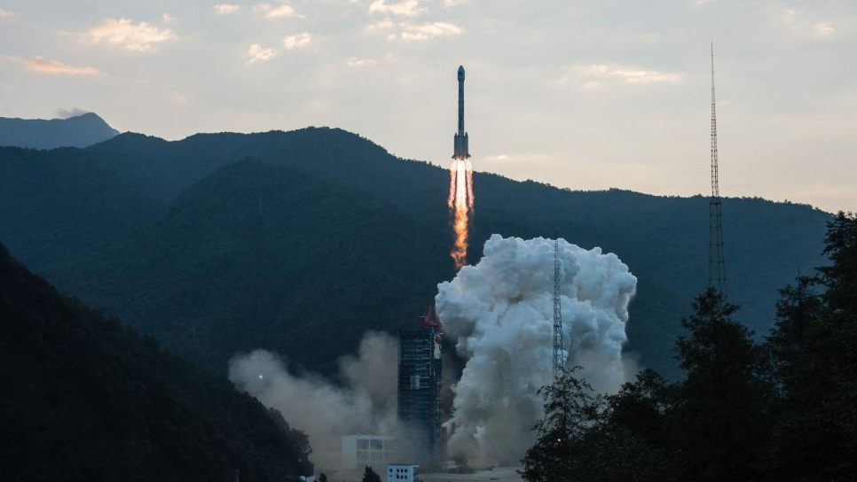 Long March 3B launches Chinasat-18 - waiting on status