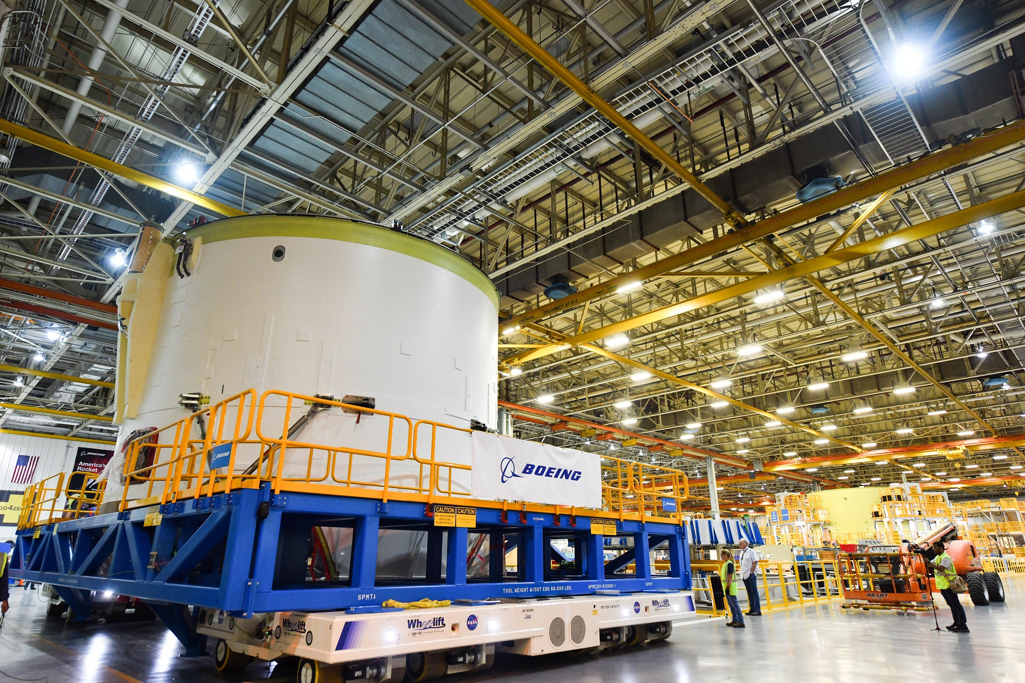 Boeing reorganizing plans as it builds second NASA SLS Core ... on truck tool box manufacturers, body harness manufacturers, safety harness manufacturers, glass manufacturers, trailer manufacturers,