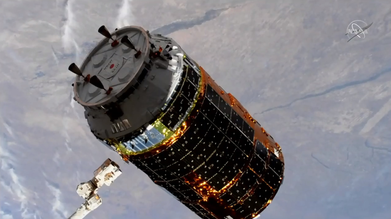 HTV-8 departs ISS ahead of destructive re-entry