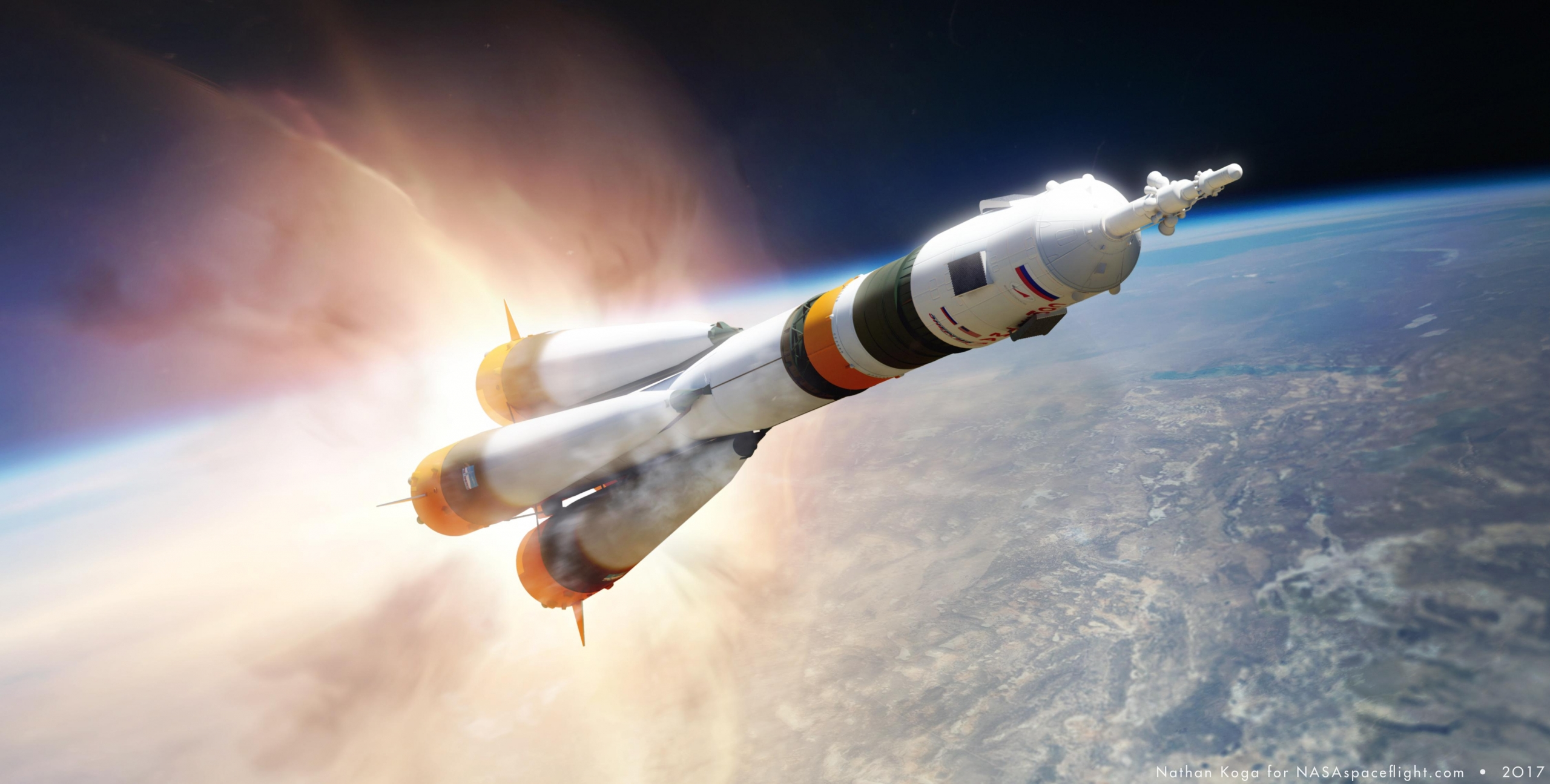 Soyuz MS-17 launches on ultrafast, 3 hour journey to ISS