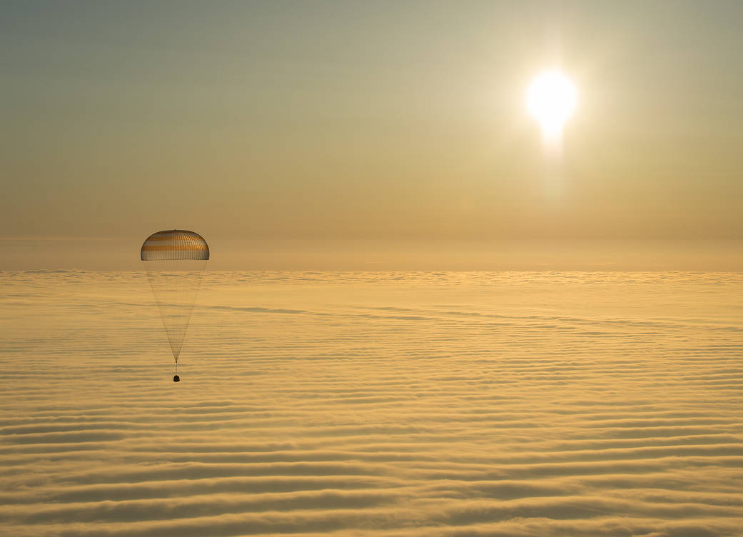 Soyuz MS-16 returns Space Station trio to Earth