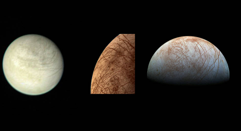 Oxygen and water showcase Mars, Europa mysteries and struggles