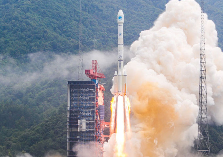 Chinese bolster navigation system with dual Beidou launch