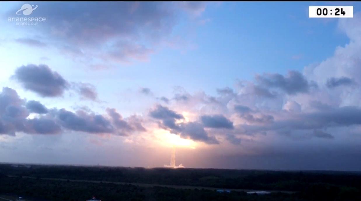 Ariane 5 launches with TIBA-1 and Inmarsat GX5