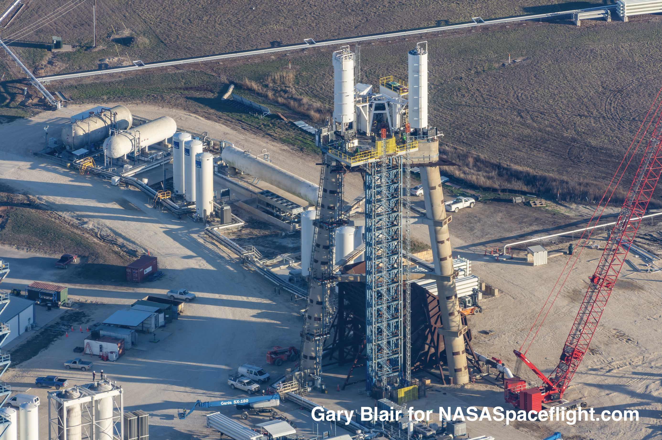 SpaceX set to activate additional test stands ahead of busy 2020