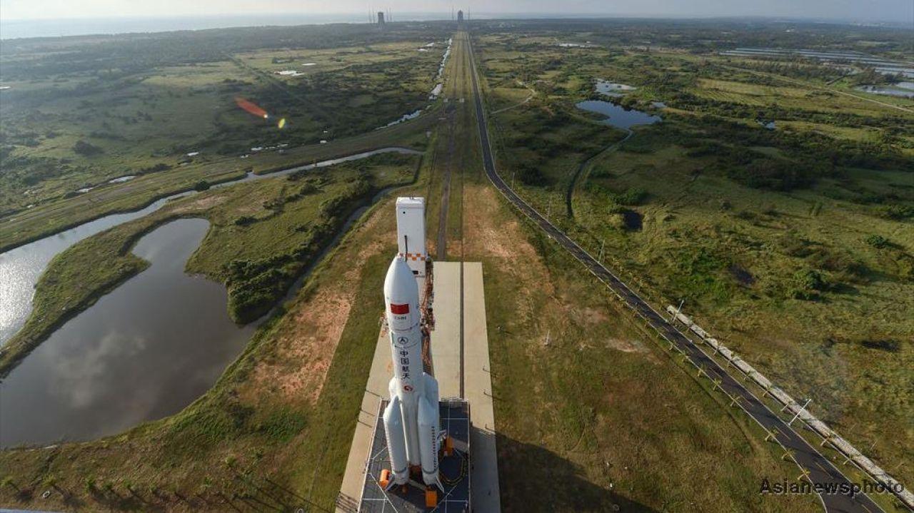 China launches rocket in boost for 2020 Mars mission