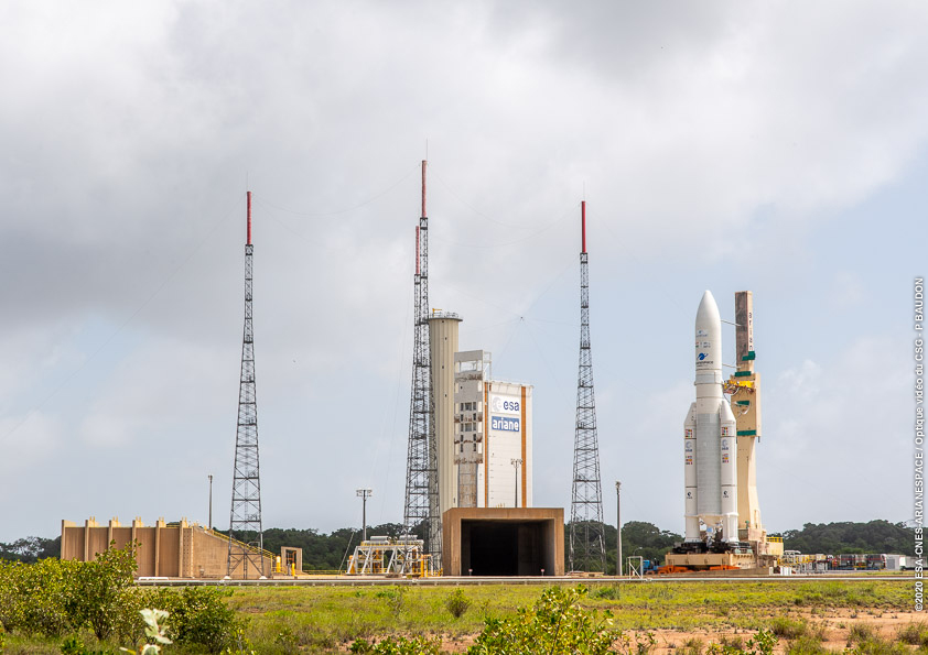 Arianespace gears up for busy 2020 with dual-passenger Ariane 5 mission