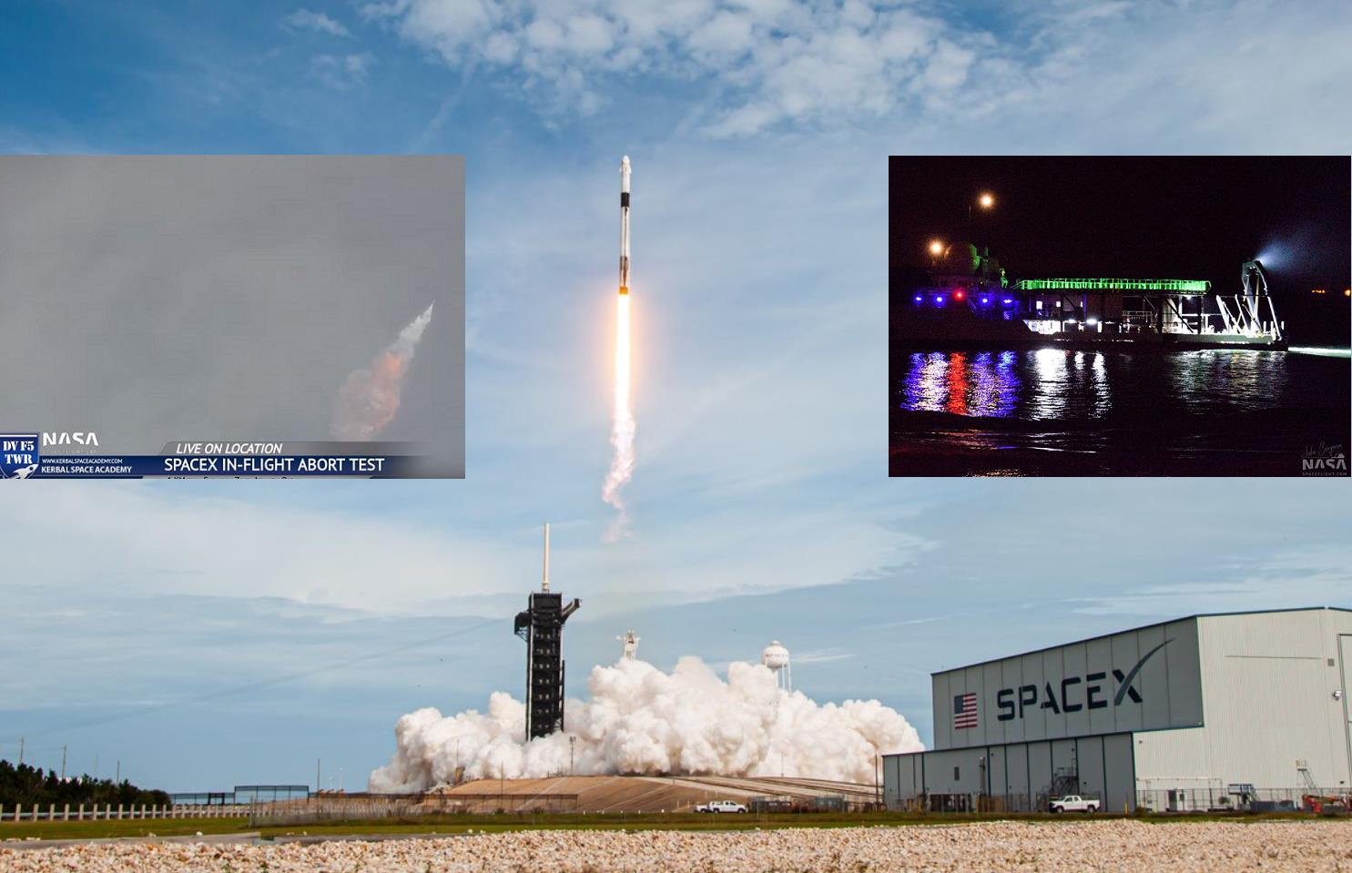 SpaceX conducts successful Crew Dragon In-Flight Abort ...