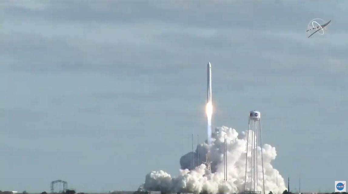 Antares lofts Cygnus on 13th ISS resupply flight