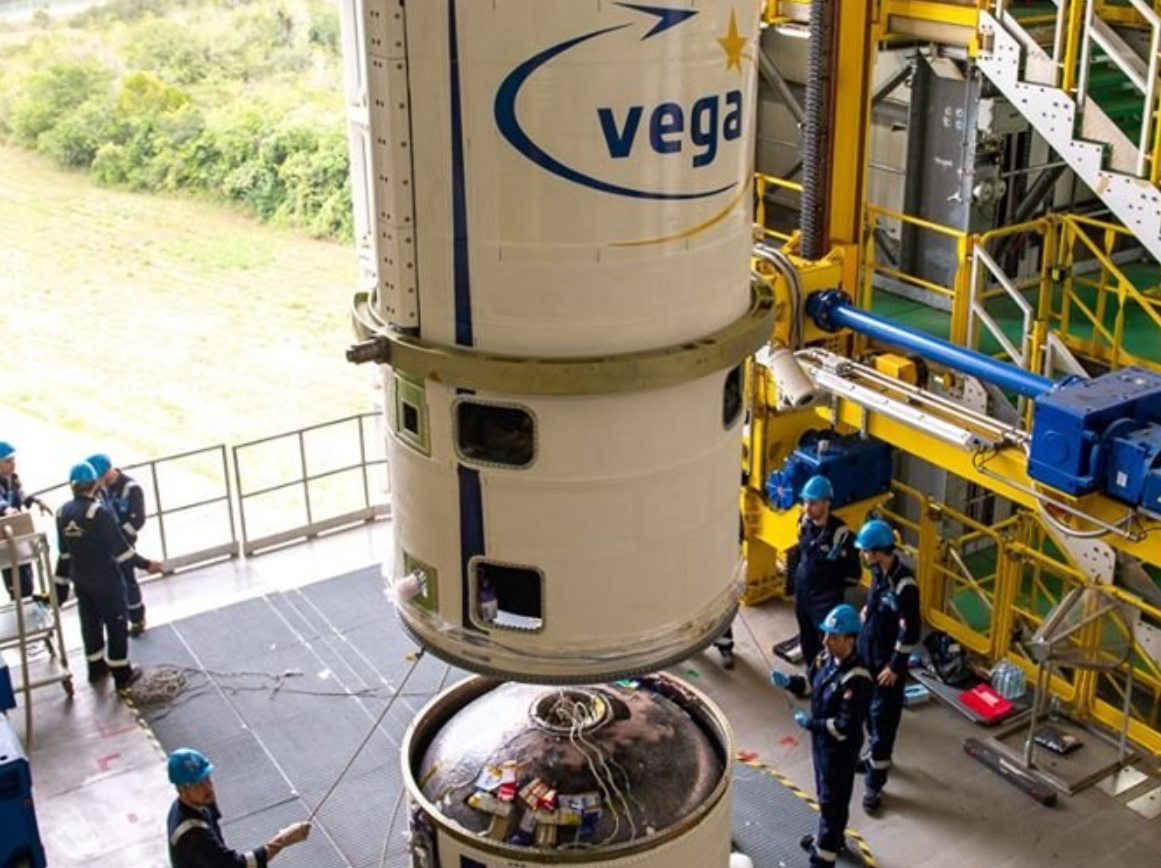 Arianespace begins stacking Vega ahead of March Return To Flight - NASASpaceflight.com