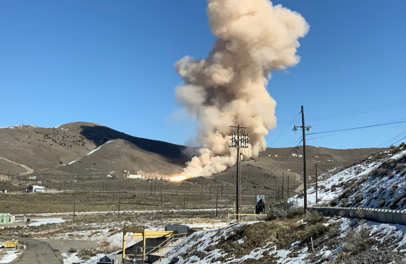 Northrop Grumman OmegA 2nd stage tested at NGC in Promontory - NASASpaceflight.com