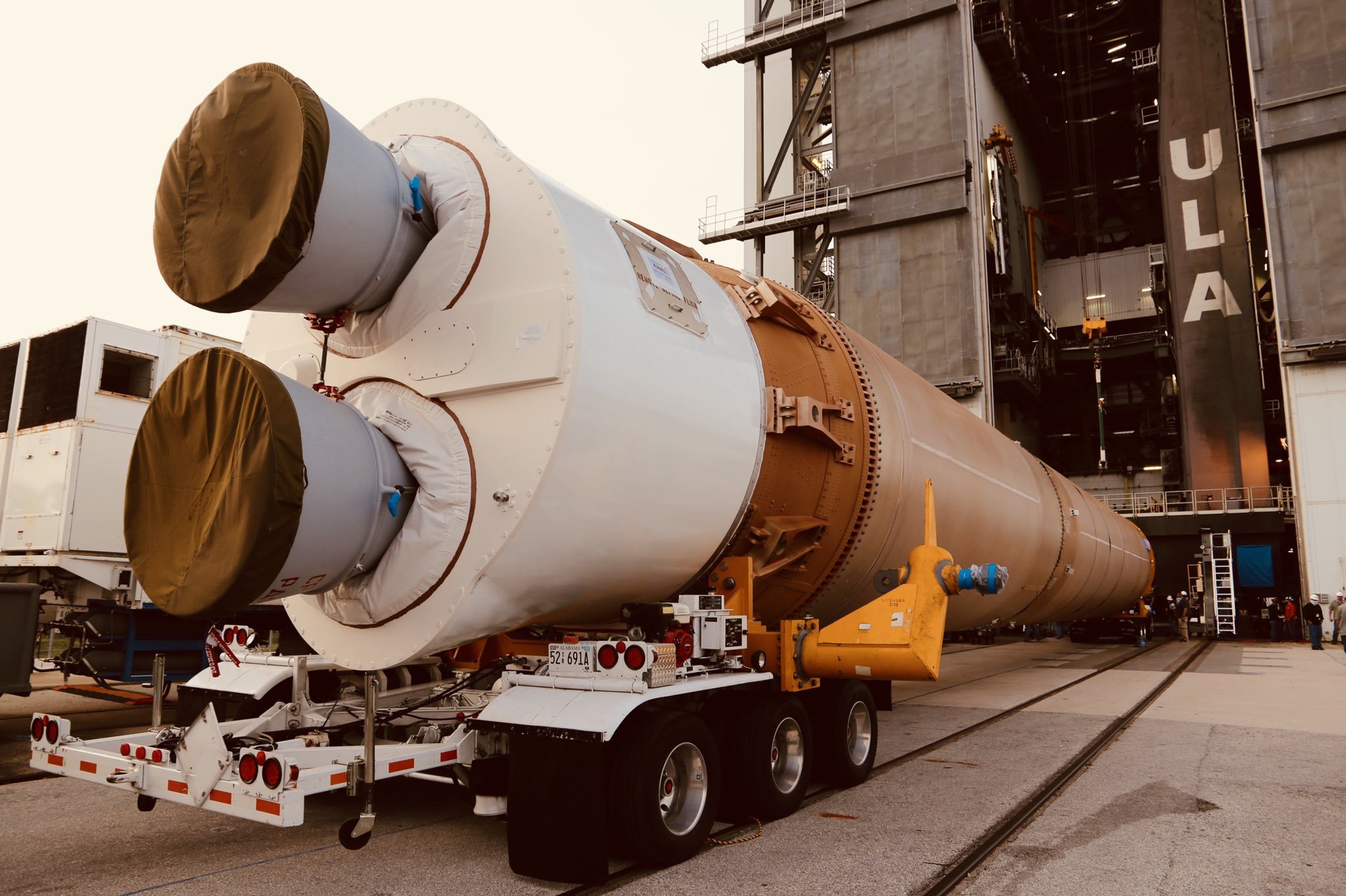 ULA enters LVOS operation ahead of USSF-7 launch