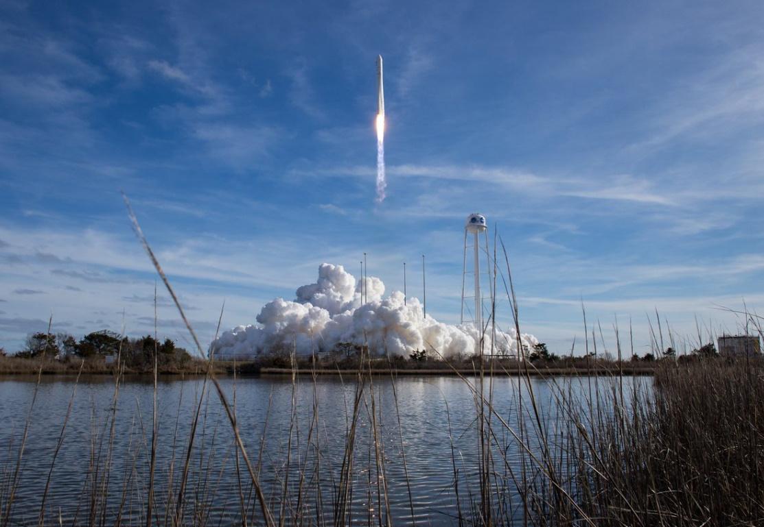 Northrop Grumman launches S.S. Katherine Johnson to Station