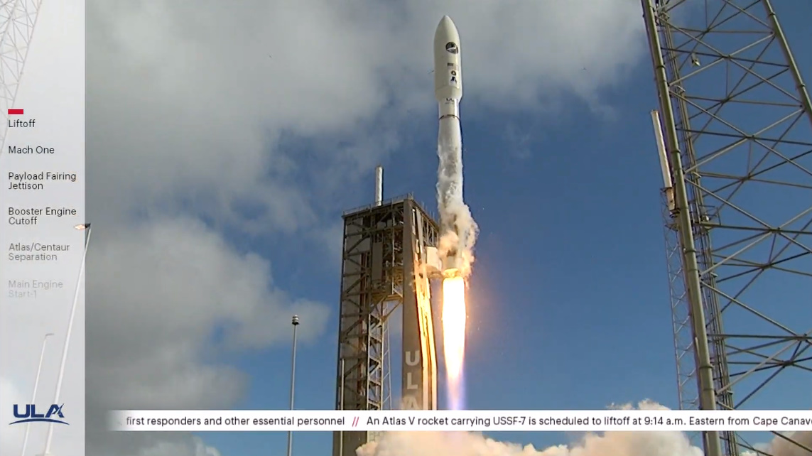 ULA Atlas V launches sixth mission for X-37B spaceplane