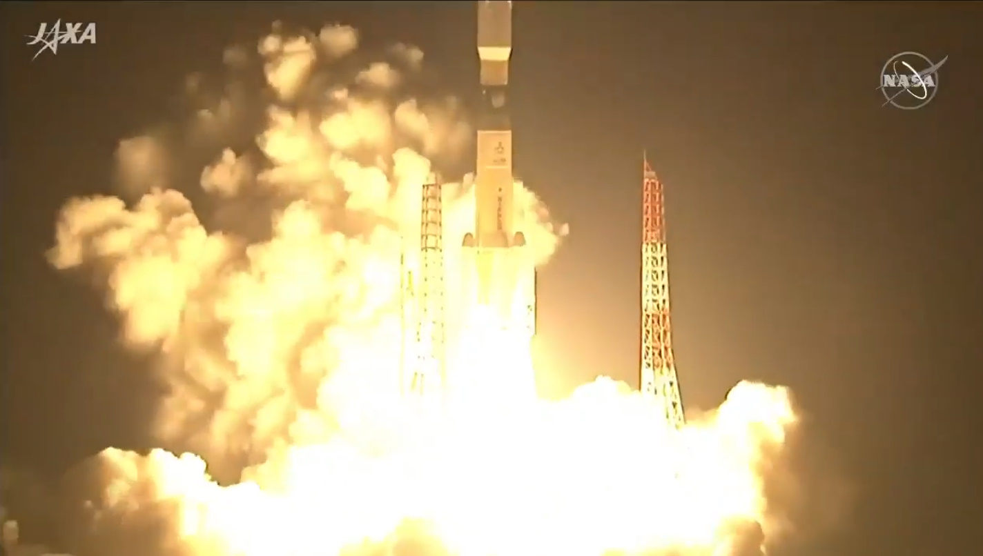 H-IIB launches last HTV mission to International Space Station