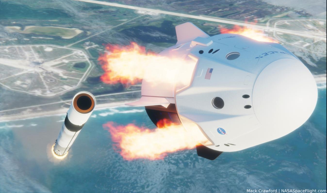 Examining Crew Dragon's launch abort modes and splashdown locations - NASASpaceflight.com