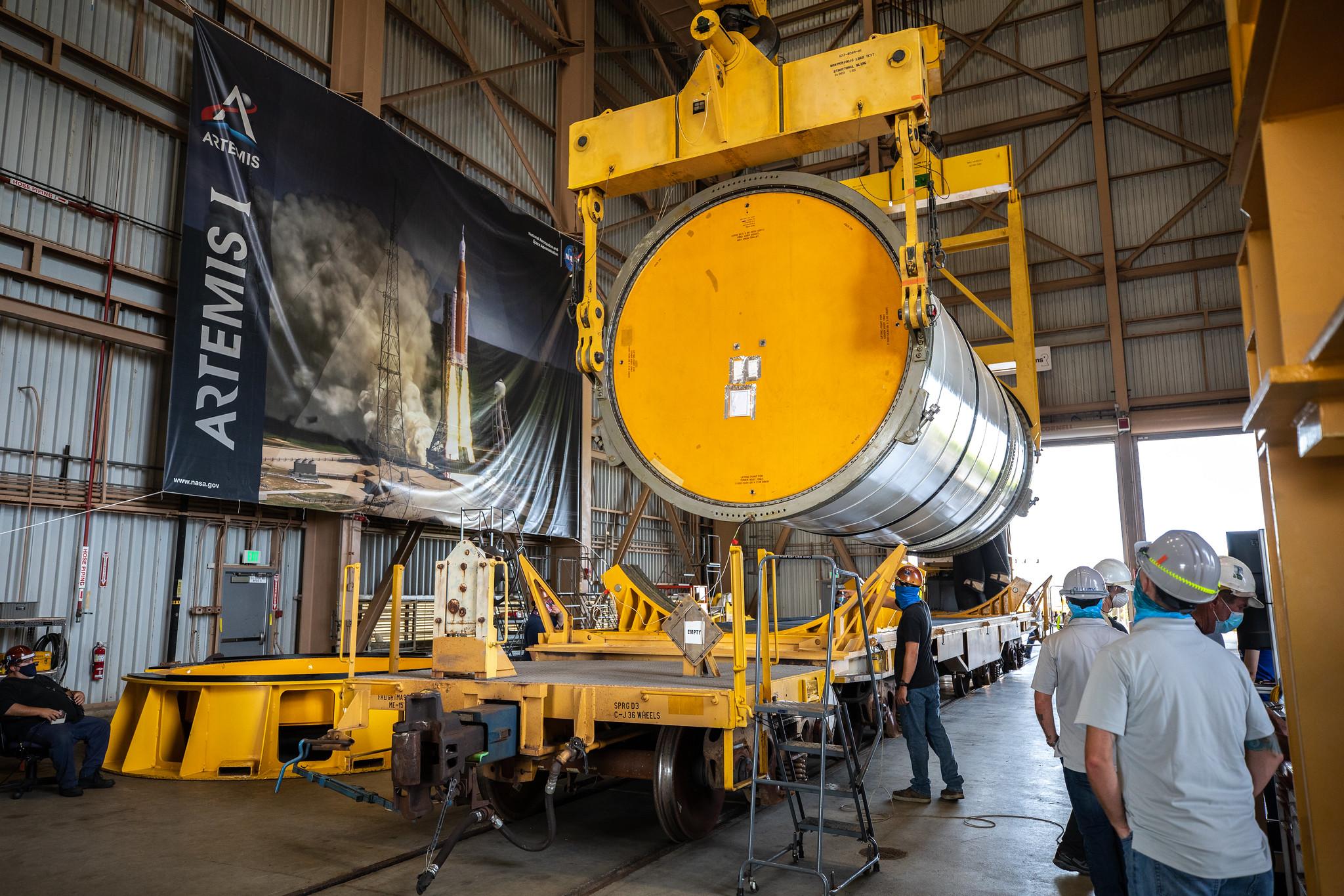 NASA, Northrop Grumman plan for 12 additional SLS Solid Rocket Boosters