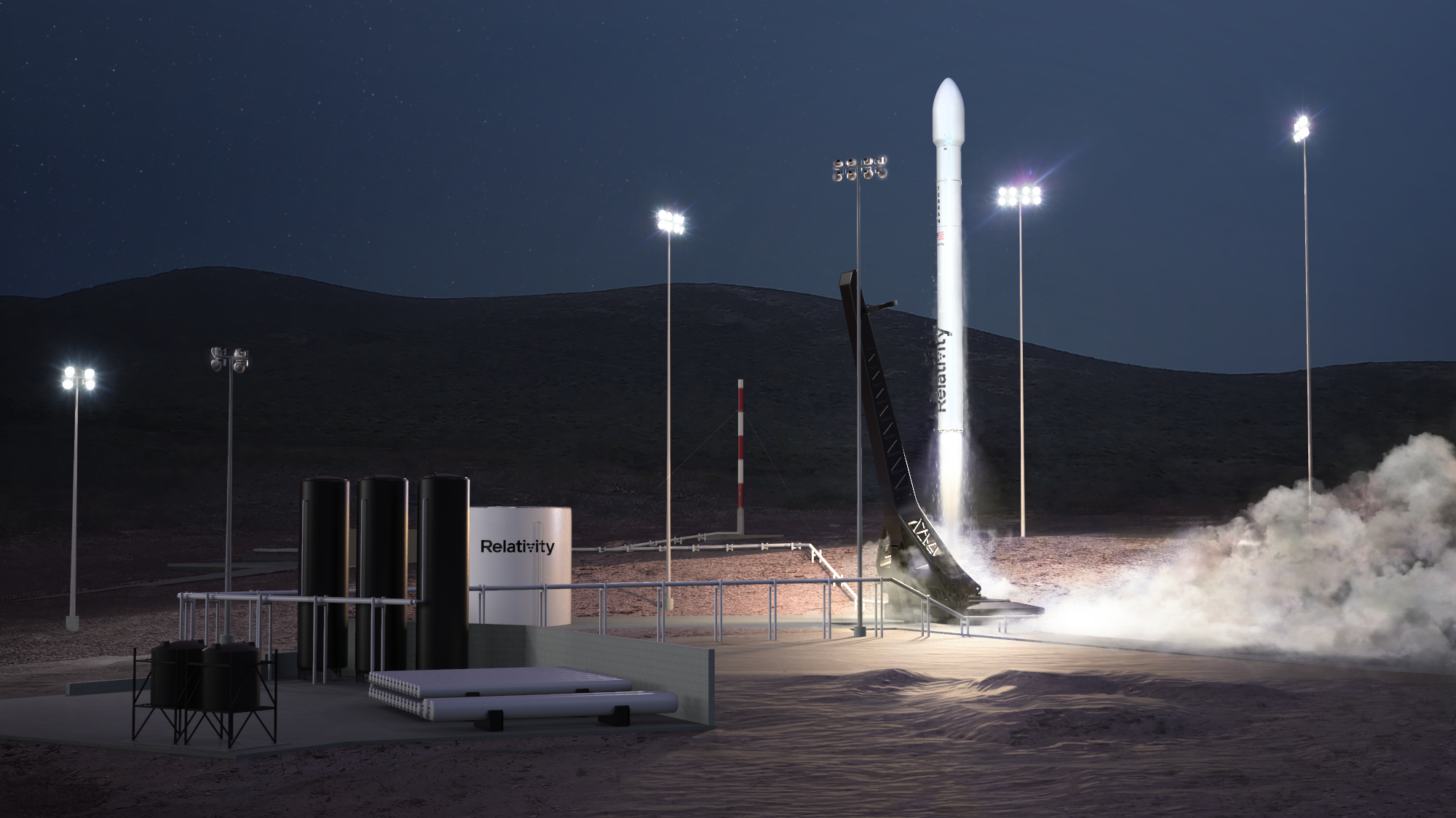 Relativity Space to Launch Iridium Satellites from New Vandenberg Launch Site