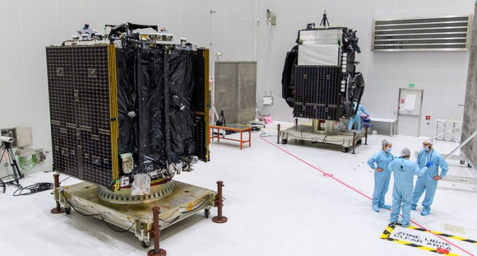 Ariane 5 scrubs launch of Mission Extension Vehicle, two communications satellites to orbit - NASASpaceflight.com