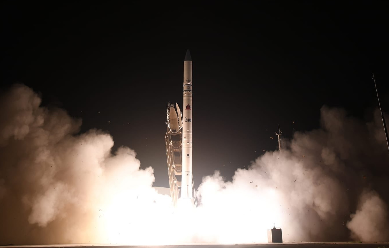 Israel conducts surprise launch with Ofek 16 satellite