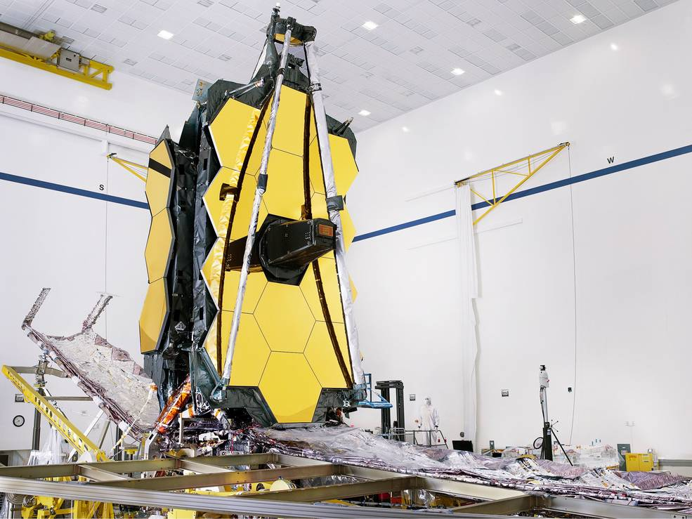 James Webb on track for October 2021 launch; final testing underway