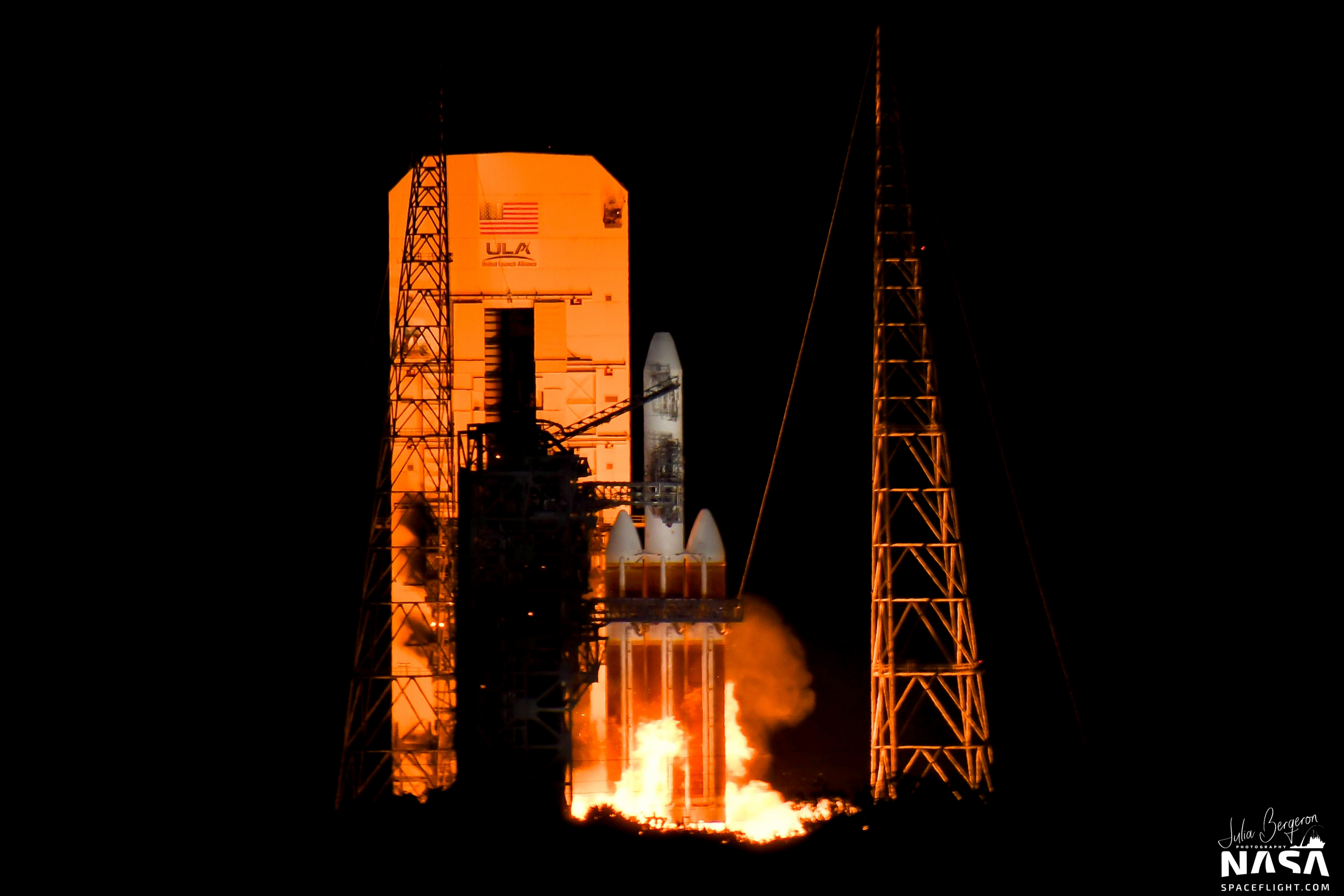 ULA scrubs NROL-44 launch on Delta IV Heavy, resets for 24 hour turn around