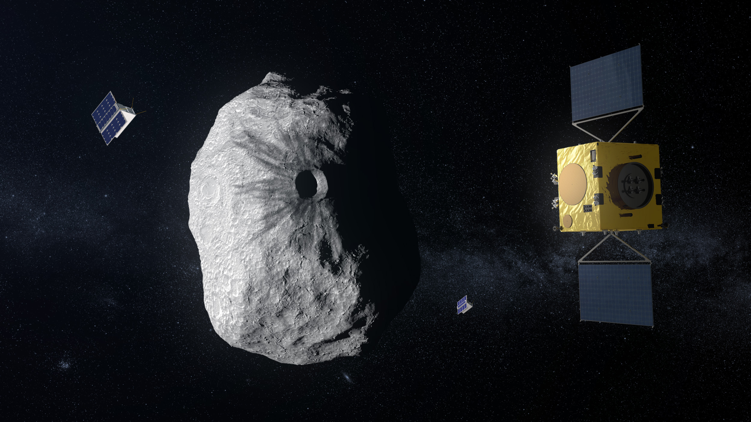 ESA's Hera planetary defense mission signs prime contractor, on course for launch in 2024