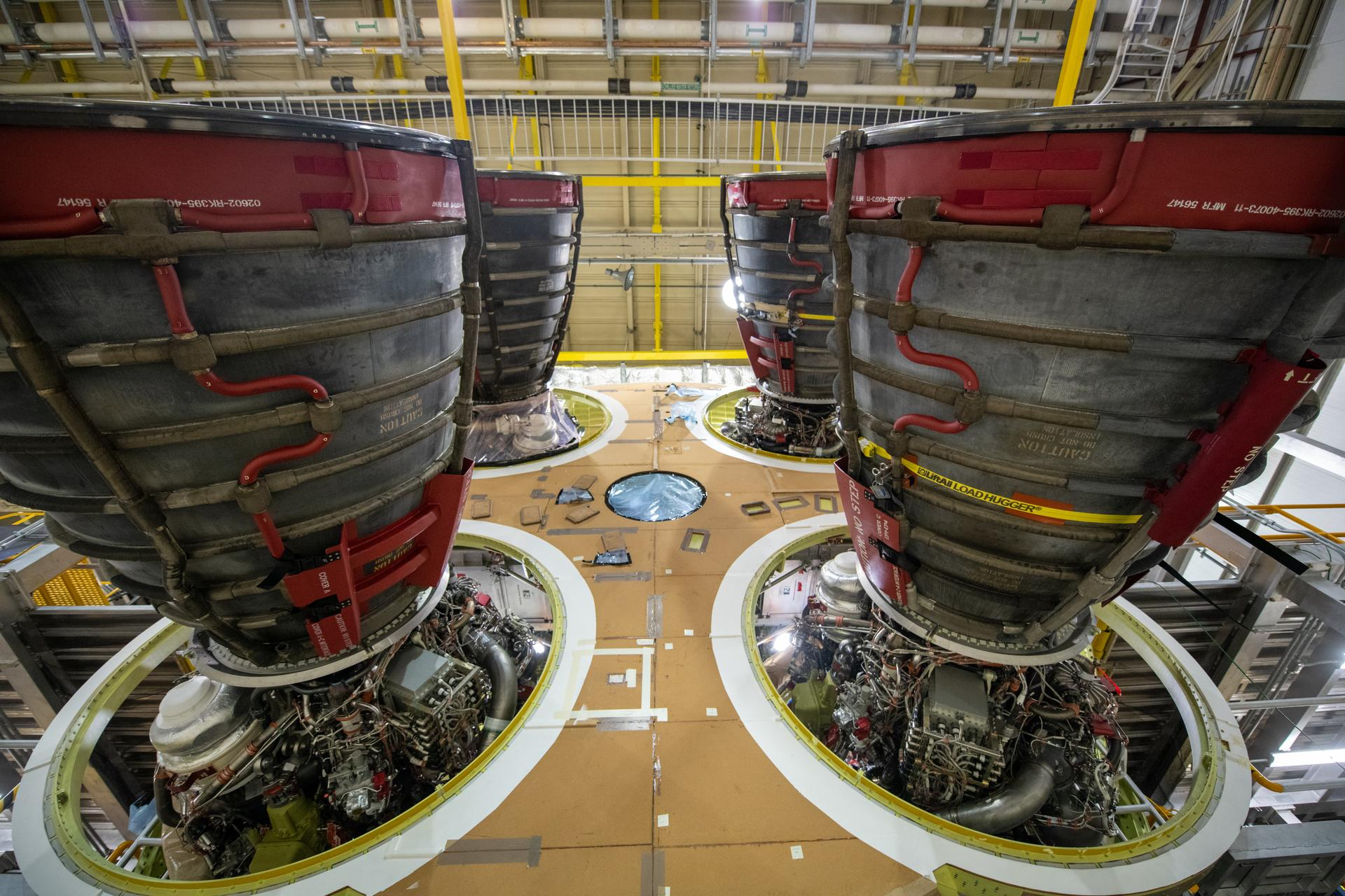 Aerojet Rocketdyne getting Shuttle engines ready for SLS Core Stage Green Run support