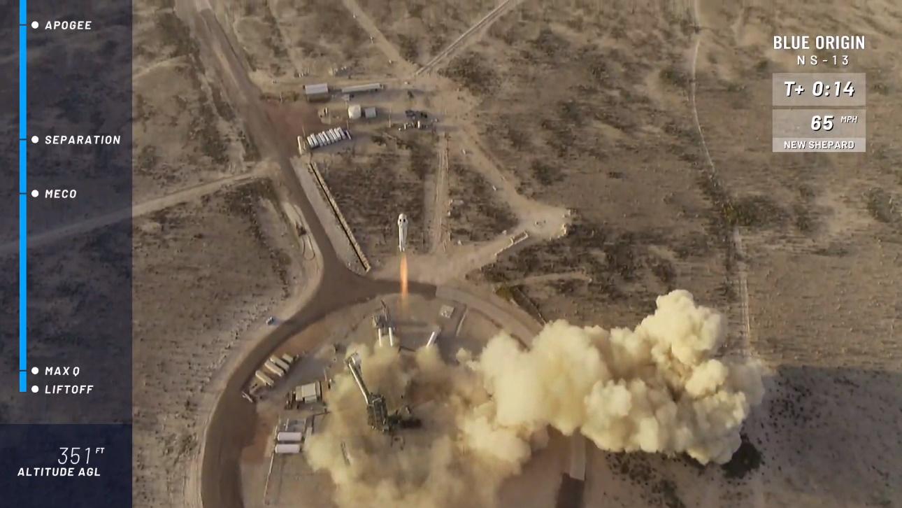Blue Origin tests NASA landing system hardware on latest New Shepard flight
