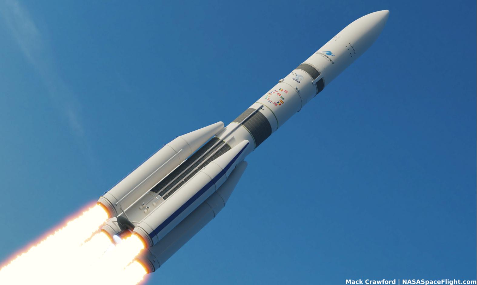 ESA roundup: Ariane 6, James Webb, & BepiColombo