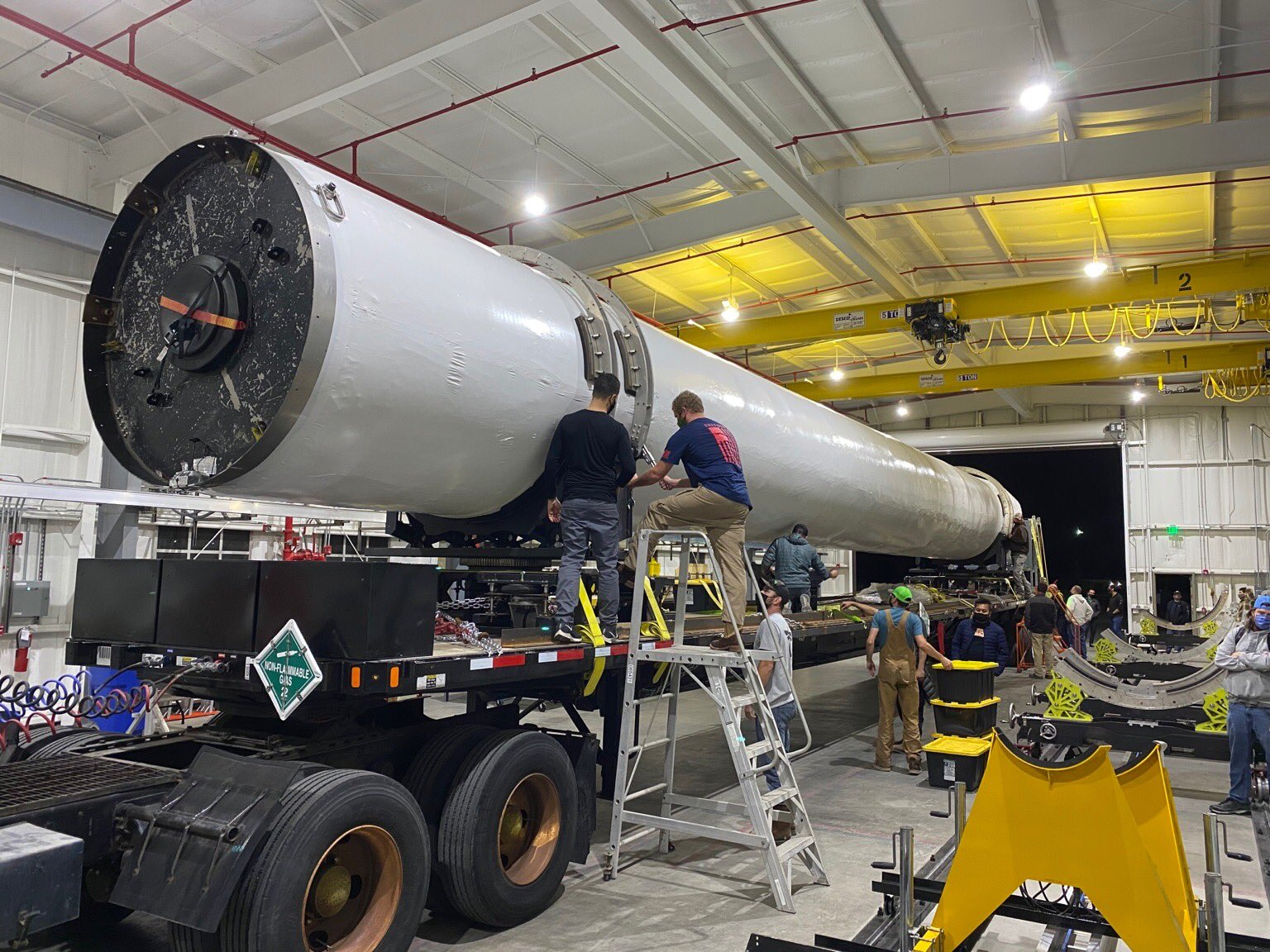 Firefly closes in on debut flight with rocket delivery to Vandenberg launch site