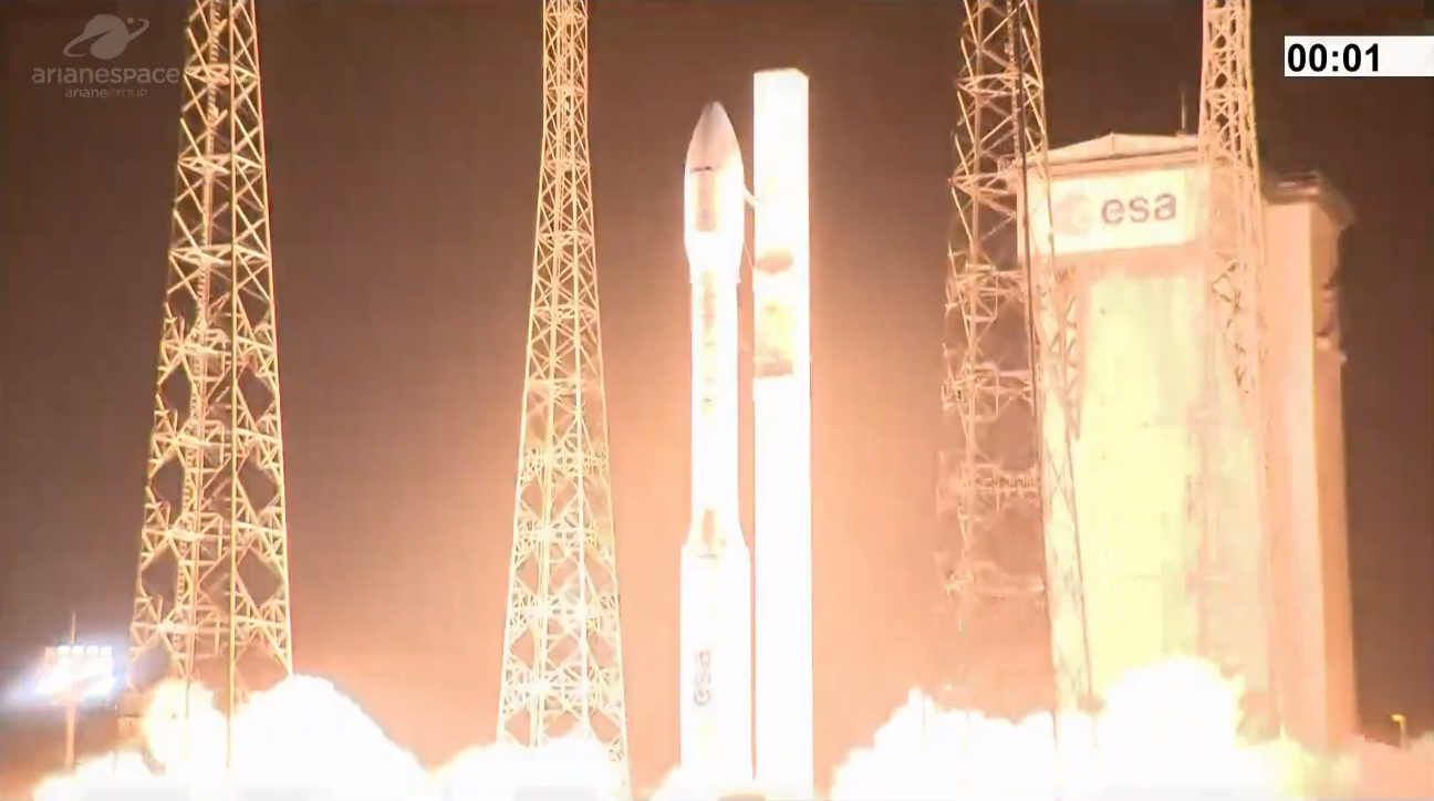 Vega fails during launch of European Earth observation satellites
